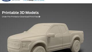 Ford ensaya su primera tienda online para imprimir coches en 3D