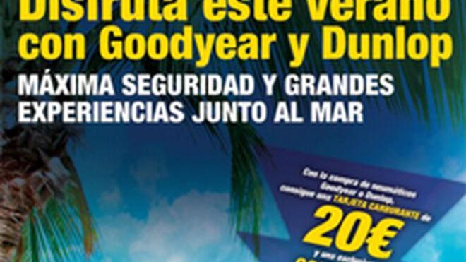 Goodyear y Vulco regalan carburante por la compra de cubiertas
