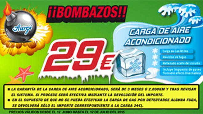 Aurgi lanza sus 'bombazos' con precios especiales