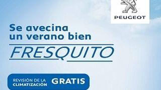 Peugeot ofrece revisión gratis y precios cerrados en climatización