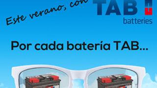 TAB Spain regalará gafas de sol por comprar baterías