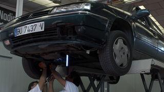 Los coches de hasta 5 años van al taller de dos a tres veces al año