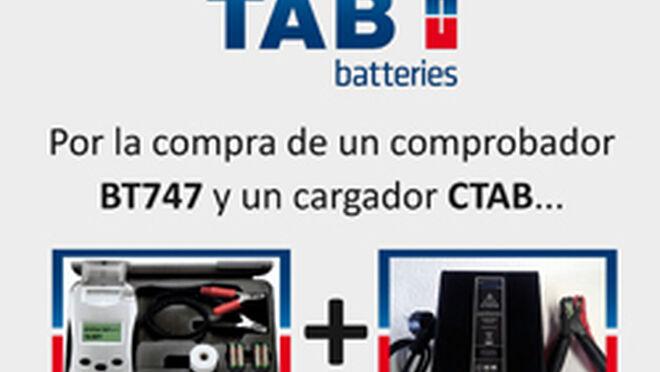 0a72932b18 TAB regala baterías por comprar comprobadores y cargadores
