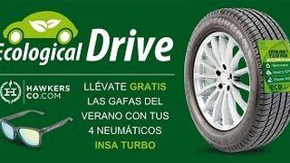 Ecological Drive regala unas gafas de sol con neumáticos Insaturbo