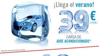 Grupo Huertas recarga el aire acondicionado por 39 euros