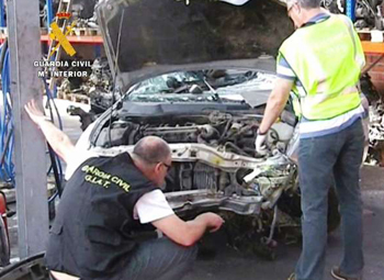 La Guardia Civil desarticula una trama de estafa a aseguradoras