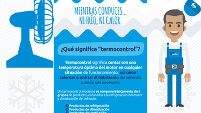 Elige calidad, elige confianza explica climatización a conductores