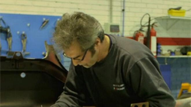 Talleres Domingo (Cecauto) restaura clásicos en 'House of Cars'