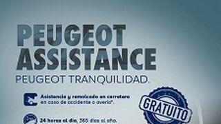 Peugeot también se apunta a la asistencia gratuita en carretera