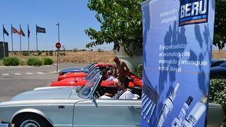 Beru sienta al volante de vehículos clásicos a talleres y distribuidores