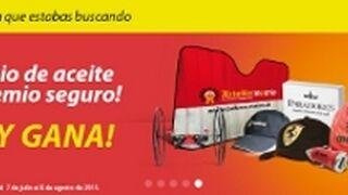 Talleres Motrio incentiva con regalos el cambio de aceite de su marca