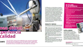Lizarte, linea diesel experiencia y calidad