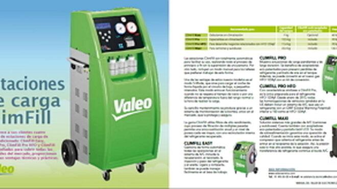 Valeo, estaciones de carga ClimFill