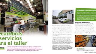 Repuestos Doral, recambios y servicios para el taller