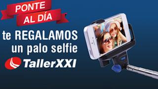 TallerXXI reparte más de 10.000 palos selfie entre sus clientes