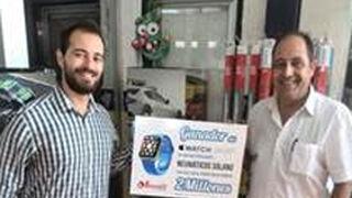 Neumáticos Solano, premio al pedido online dos millones de Grupo Andrés