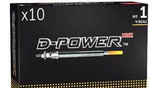 La gama de calentadores D-Power de NGK cumple diez años