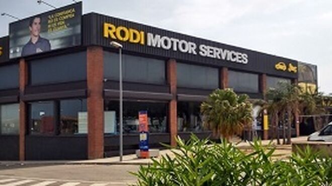 La red Autoequip quedará integrada en Rodi Motor Services a final de año