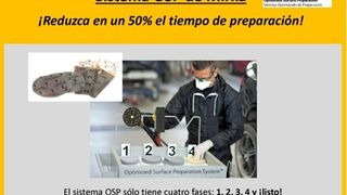 Sistema OSP de Mirka, reduzca el 50% el tiempo de preparación!