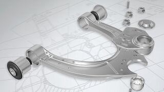 Montaje de brazos transversales para BMW, según Meyle