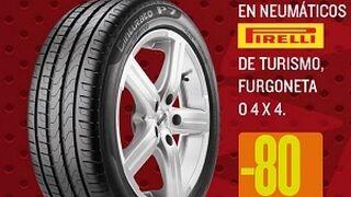 Motortown descuenta el 80% en el segundo neumático Pirelli