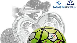 Grovisa regala un balón oficial de la Liga por la compra de productos de Sachs y Lemförder
