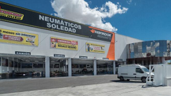 Neumáticos Soledad abre en Getafe uno de los talleres más grandes de Europa