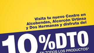 Norauto descuenta el 10% en tres de sus centros