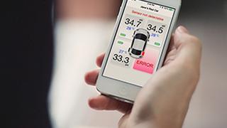 Fobo, nueva app que mide la presión de los neumáticos