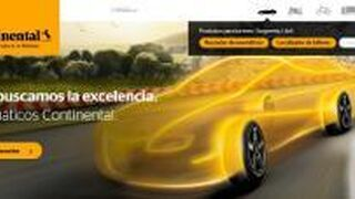 Continental estrena web, más visual e interactiva