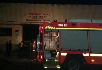 Un incendio en un taller de valencia termina con nueve - Reparacion tv valencia ...