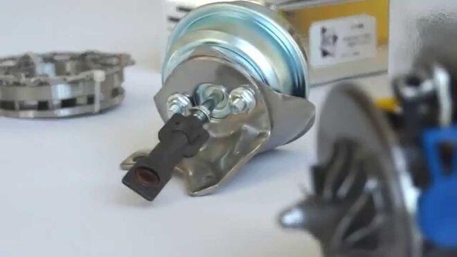 Cómo reparar un turbo cambiando el cartucho (Avesa)