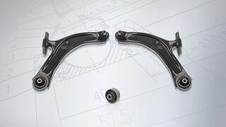 Nuevos brazos de suspensión Meyle para Nissan y Renault