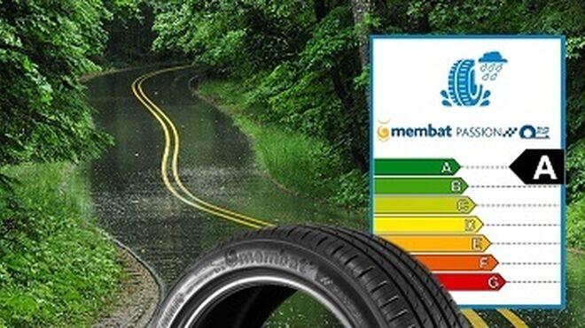 El neumático Passion Run Flat de Membat, categoría A en seguridad