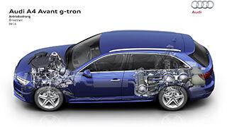 Audi lanzará en 2016 su segundo híbrido de GNC y gasolina