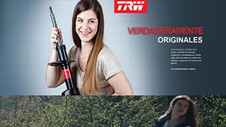 'Verdaderamente Originales' presenta los nuevos amortiguadores de TRW