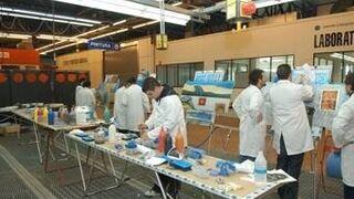 Bancada y estiraje o pintado de plásticos, entre los cursos de Centro Zaragoza de noviembre