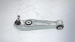 Nuevas piezas Meyle para chasis y dirección de deportivos Porsche