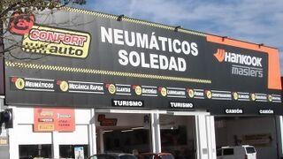 Neumáticos Soledad celebra los 20 años de su centro de Torrente