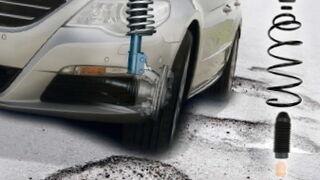 Daños típicos de la suspensión y amortiguación, y sus causas