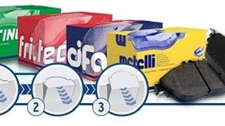 Nuevo embalaje para las pastillas de freno de Metelli