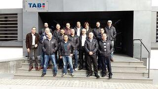 Agerauto visita la planta de TAB Batteries en Eslovenia