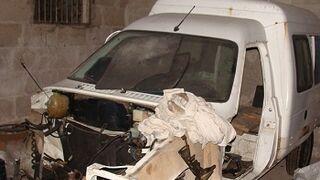 Desmantelan un taller ilegal que operaba con coches robados