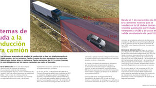 Sistemas de ayuda a la conducción para camión