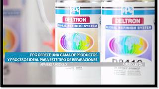 PPG, aerosoles 2K para rentabilizar las pequeñas reparaciones de pintura