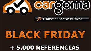 Cargoma rebaja sus neumáticos hasta el 7% por el 'Black Friday'