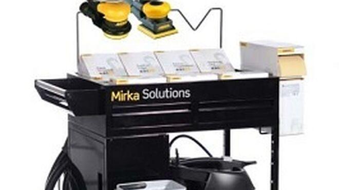 Mirka cierra 2015 con seis novedades para el taller de carrocería