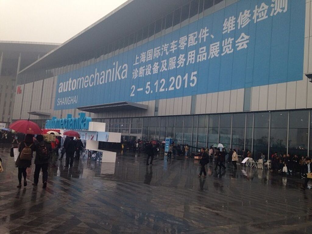 Automechanika Shanghai 2015 estrenó recinto en el distrito de Puxi.