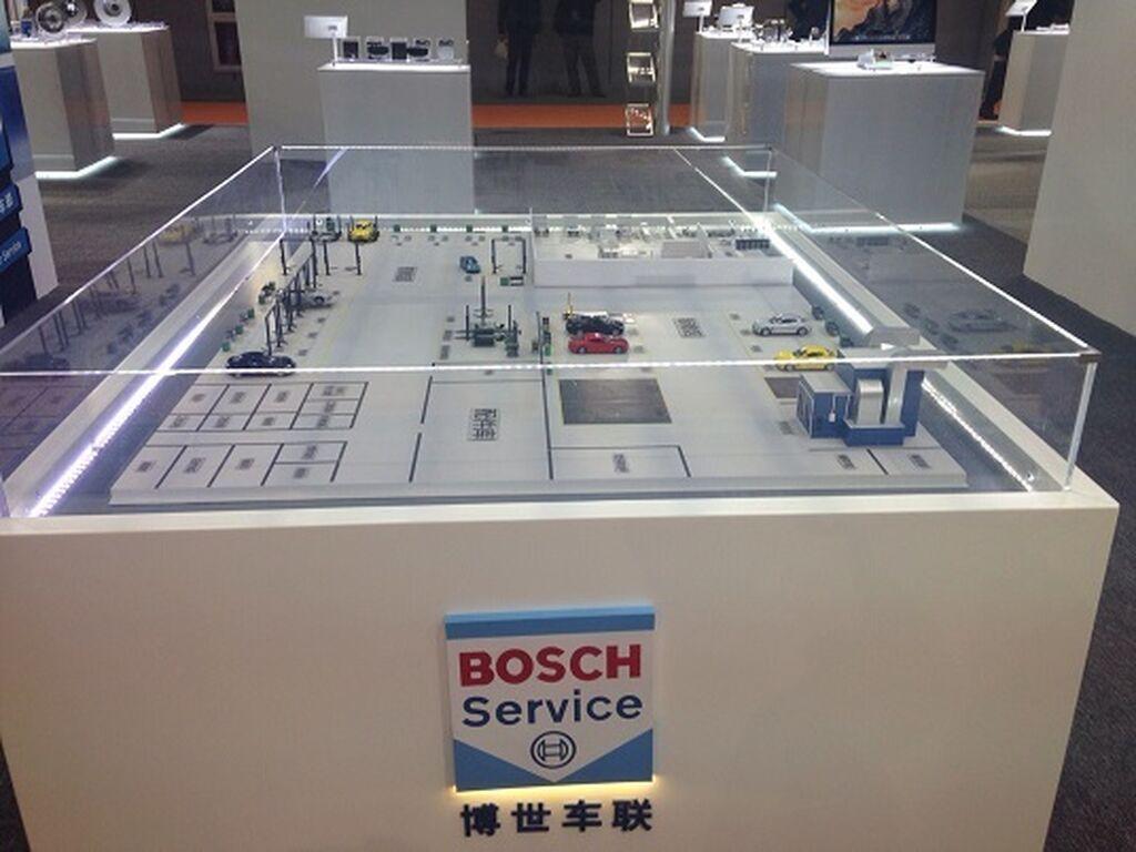 Bosch Service también presente en Shanghai.