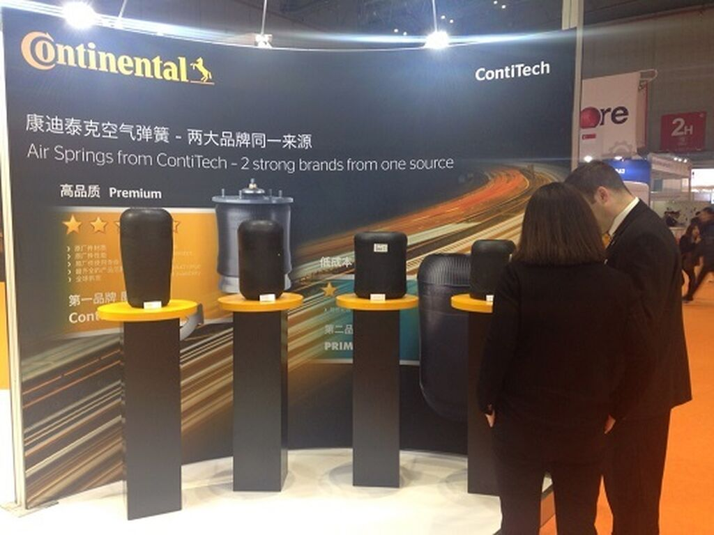Stand de Continental.